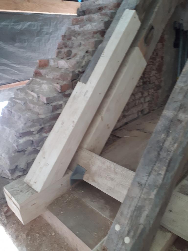 Es gilt, möglichst viel der alten Bausubstanz zu erhalten.
